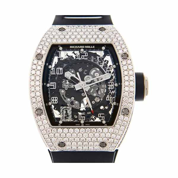 RICHARD MILLE 39MM X 48MM 18KT WHITE GOLD MEN'S WATCH