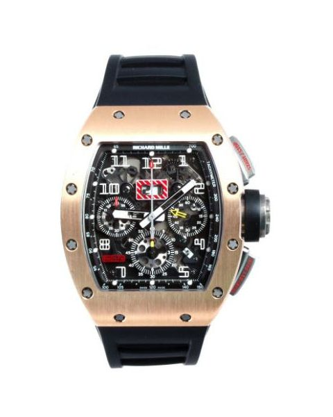 Richard Mille Pre-owned Felipe Massa Automatic Flyback Chronograph Men's Watch