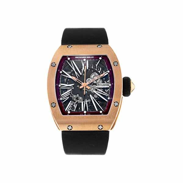 RICHARD MILLE 45MM X 37MM 18KT ROSE GOLD MEN'S WATCH