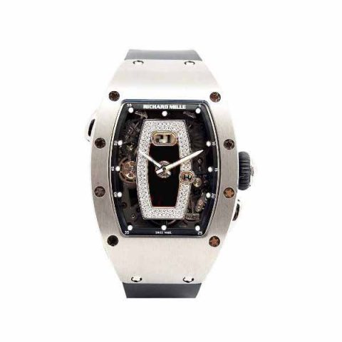 RICHARD MILLE 18KT WHITE GOLD 52MM X 34MM LADIES WATCH