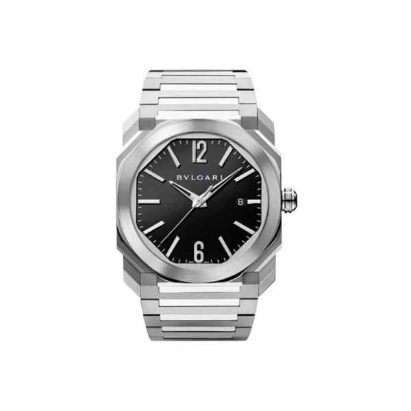BVLGARI OCTO 41.5MM STAINLESS STEEL MEN'S WATCH