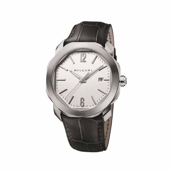 BVLGARI OCTO ROMA STAINLESS STEEL 41MM MEN'S WATCH