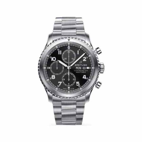 BREITLING NAVITIMER 8 CHRONOGRAPH 43MM STAINLESS STEEL MEN'S WATCH