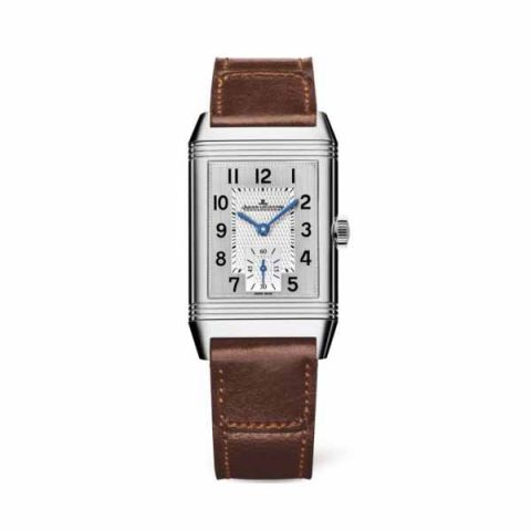 JAEGER LECOULTRE REVERSO CLASSIC MEDIUM SMALL SECONDS 42.9MM X 25.5MM STAINLESS STEEL LADIES WATCH