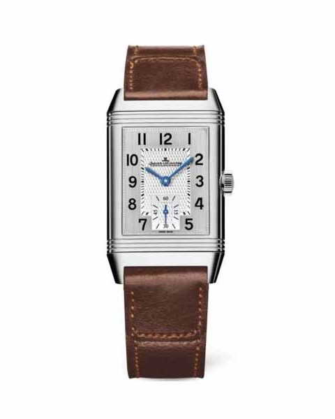 Jaeger LeCoultre Pre-owned Reverso Classic Medium Small Seconds Stainless Steel Ladies Watch