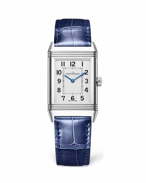 Jaeger LeCoultre Pre-owned Reverso Classic Medium Thin Stainless Steel Ladies Watch