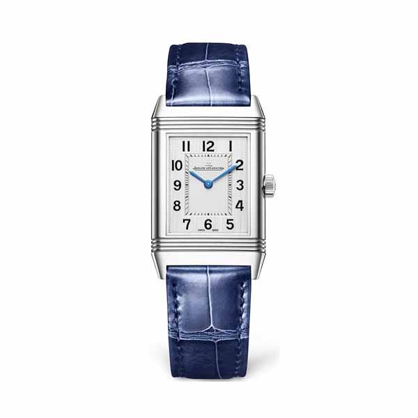 JAEGER LECOULTRE REVERSO CLASSIC MEDIUM THIN 40.2MM x 25MM STAINLESS STEEL LADIES WATCH