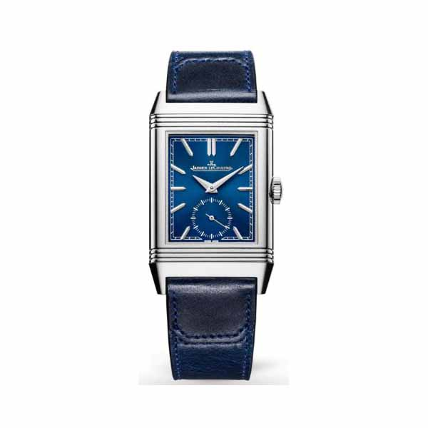 JAEGER LECOULTRE REVERSO TRIBUTE SMALL SECONDS 45.6MM X 27.4MM STAINLESS STEEL LADIES WATCH