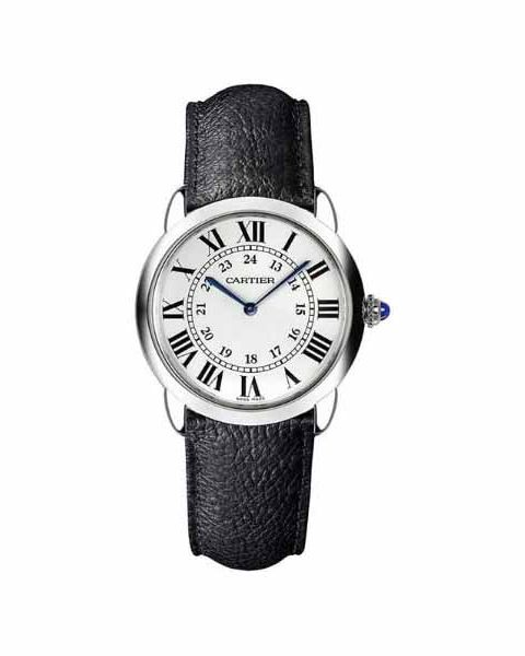CARTIER RONDE SOLO 29MM STAINLESS STEEL LADIES WATCH