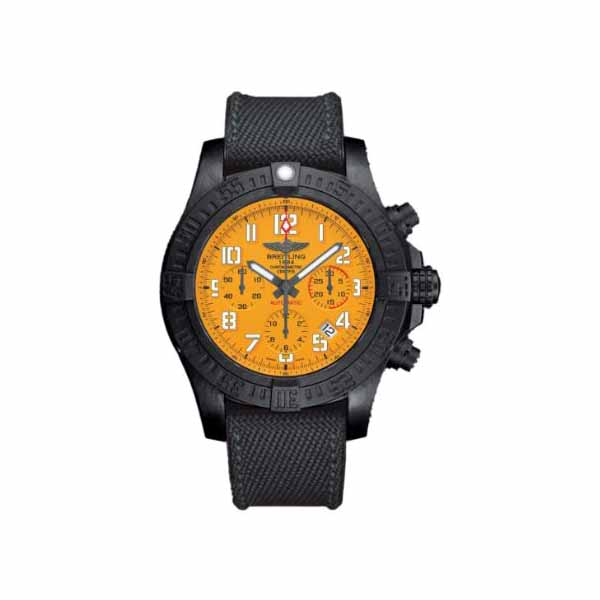 BREITLING AVENGER HURRICANE 45MM BREITLIGHT ULTRALIGHT POLYMER MEN'S WATCH