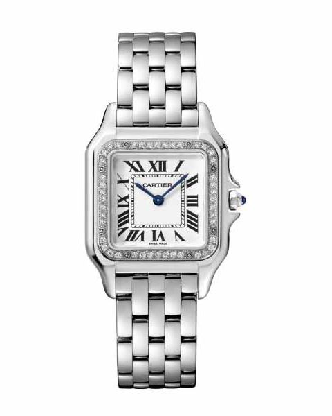 Cartier Pre-owned Panthere De Cartier Stainless Steel Ladies Watch