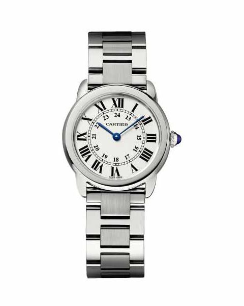 CARTIER RONDO SOLO 29.5MM STAINLESS STEEL LADIES WATCH