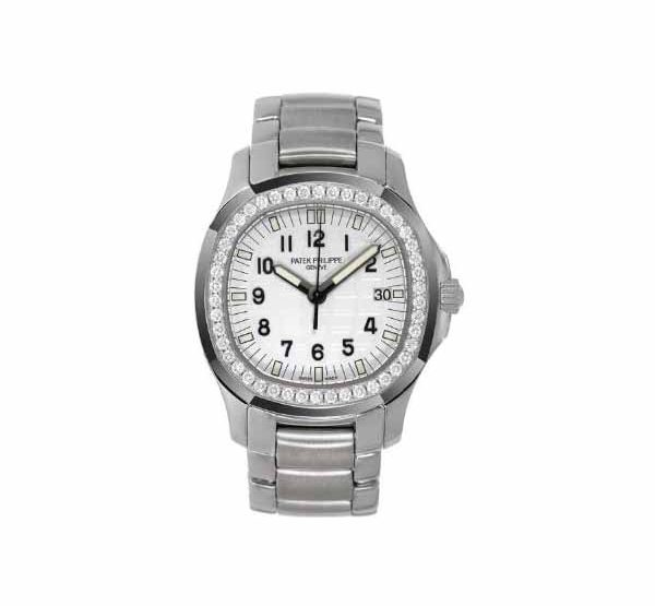 PATEK PHILIPPE AQUANAUT LUCE STAINLESS STEEL LADIES WATCH Ref. 5087/1A-010