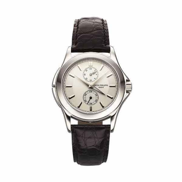 PATEK PHILIPPE COMPLICATIONS TRAVEL TIME PLATINUM MEN'S WATCH Ref. 5134P-001