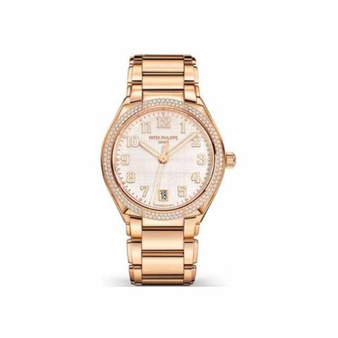 PATEK PHILIPPE TWENTY~4 ROSE GOLD LADIES WATCH Ref. 7300/1200R-010