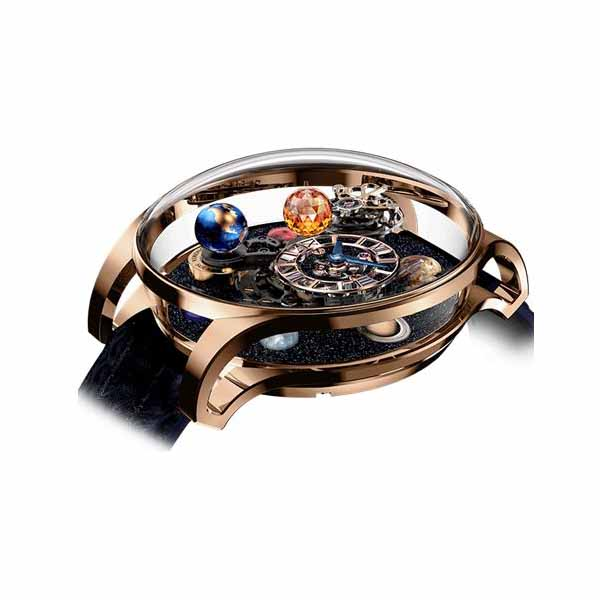 JACOB & CO. ASTRONOMIA SOLAR PLANETS LIMITED EDITION 44.5MM 18KT ROSE GOLD/SAPPHIRE MEN'S WATCH