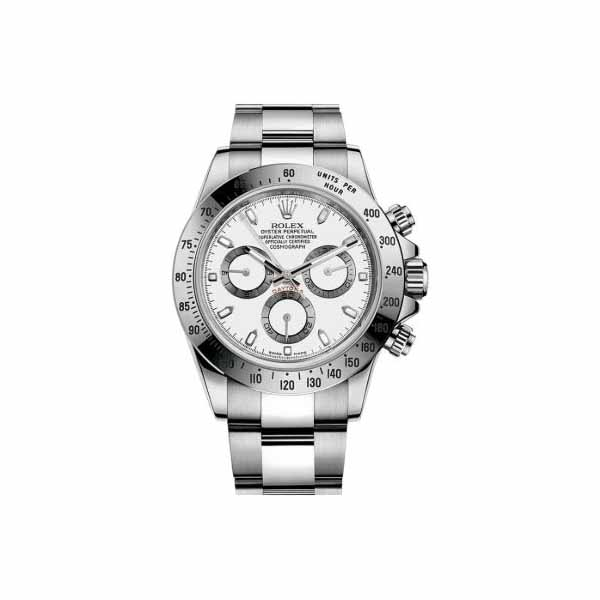 ROLEX COSMOGRAPH DAYTONA 40MM STAINLESS STEEL MEN'S WATCH