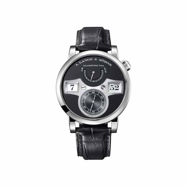 A. LANGE & SOHNE ZEITWERK 41.9MM 18KT WHITE GOLD MEN'S WATCH