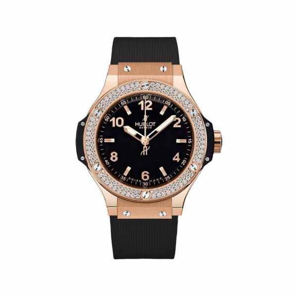 HUBLOT BIG BANG 38MM 18KT ROSE GOLD MEN'S WATCH