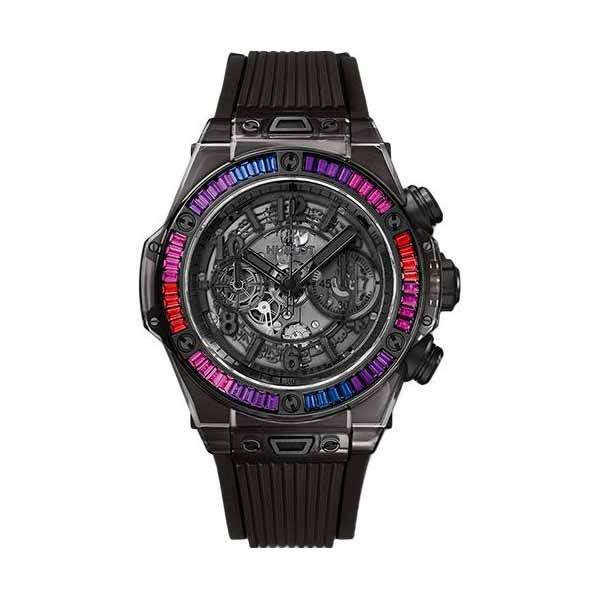 HUBLOT BIG BANG UNICO ALL BLACK SAPPHIRE GALAXY LIMITED EDITION OF 50 45MM MEN'S WATCH