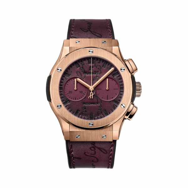 HUBLOT CLASSIC FUSION CHRONOGRAPH 45MM 18KT ROSE GOLD MEN'S WATCH