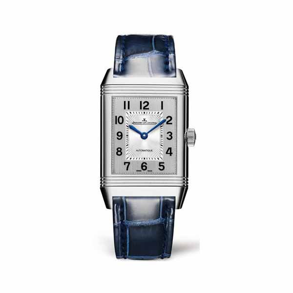 JAEGER LECOULTRE REVERSO CLASSIC MEDIUM DUETTO 40MM X 24MM STAINLESS STEEL LADIES WATCH