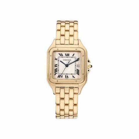 CARTIER PANTHERE 28MM 18KT YELLOW GOLD LADIES WATCH