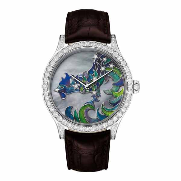 VAN CLEEF & ARPELS CADRAN EXTRAORDINAIRE MIDNIGHT CONSTELLATION GALLUS 42MM 18KT WHITE GOLD UNISEX WATCH