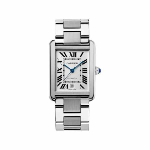 CARTIER TANK SOLO XL 31MM X 40.8MM STAINLESS STEEL LADIES WATCH