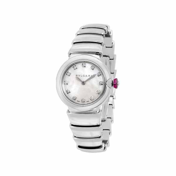 BVLGARI LUCEA 28MM STAINLESS STEEL LADIES WATCH