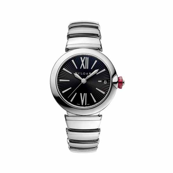 BVLGARI LUCEA 33MM STAINLESS STEEL LADIES WATCH