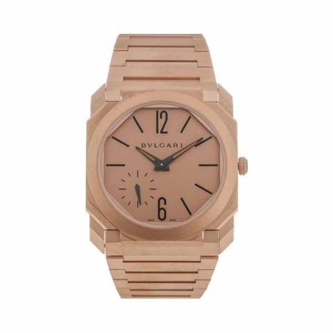 BVLGARI OCTO FINISSIMO 40MM 18KT ROSE GOLD MEN'S WATCH