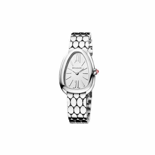 BVLGARI SERPENTI SEDUTTORI 33MM STAINLESS STEEL LADIES WATCH