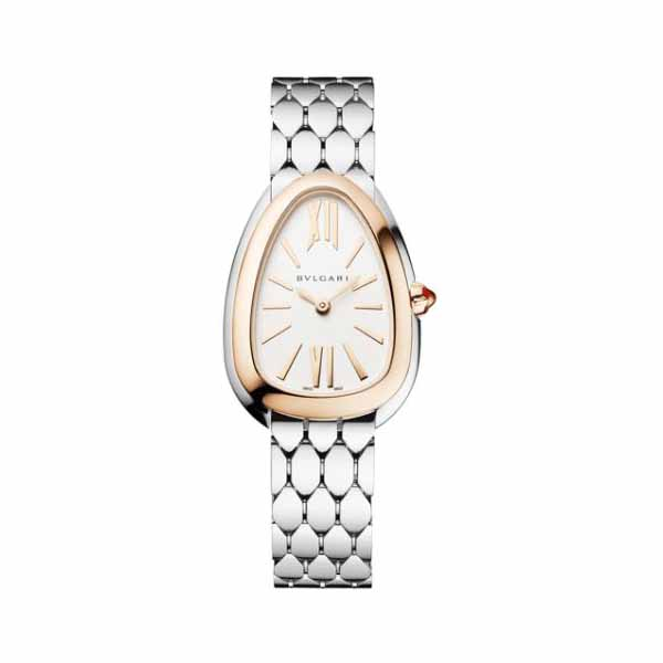 BVLGARI SERPENTI SEDUTTORI 33MM 18KT ROSE GOLD LADIES WATCH