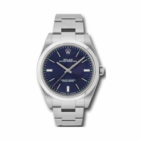 ROLEX OYSTER PERPETUAL 39MM STAINLESS STEEL MEN'S WATCH