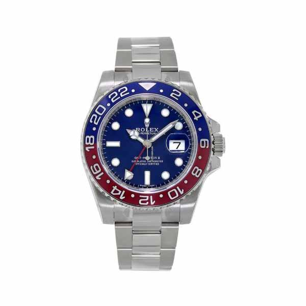 ROLEX GMT MASTER II 40MM 18KT WHITE GOLD MEN'S WATCH