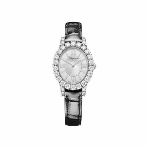 CHOPARD L'HEURE DU DIAMANT OVAL 29.40MM X 34.20MM LADIES WATCH