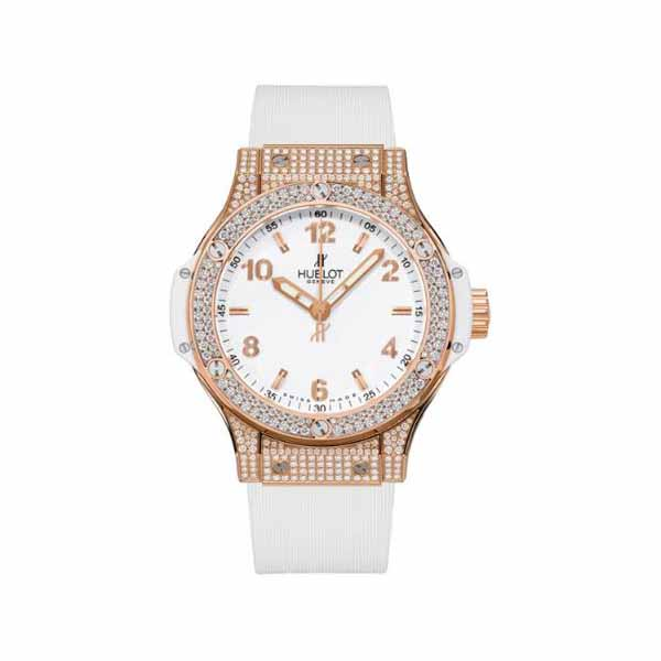 HUBLOT BIG BANG 38MM 18KT ROSE GOLD LADIES WATCH