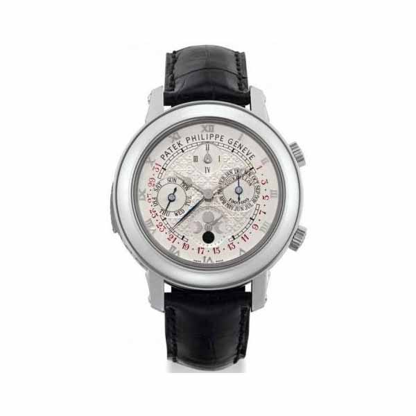 PATEK PHILIPPE SKY MOON TOURBILLON PLATINUM 42.8MM MEN'S WATCH