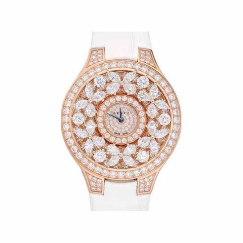 GRAFF CLASSIC BUTTERFLY 32MM 18KT ROSE GOLD LADIES WATCH REF BF32PGD