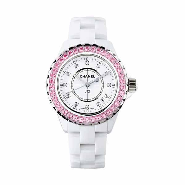 CHANEL J12 33MM WHITE CERAMIC LADIES WATCH