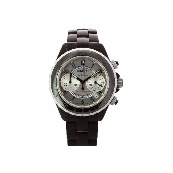 CHANEL J12 SUPERLEGGERA 41MM BLACK CERAMIC UNISEX WATCH