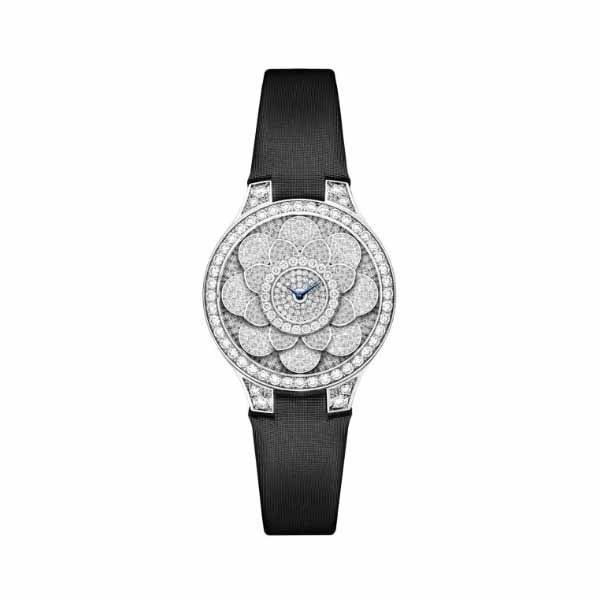 GRAFF ICON 32MM 18KT WHITE GOLD LADIES WATCH