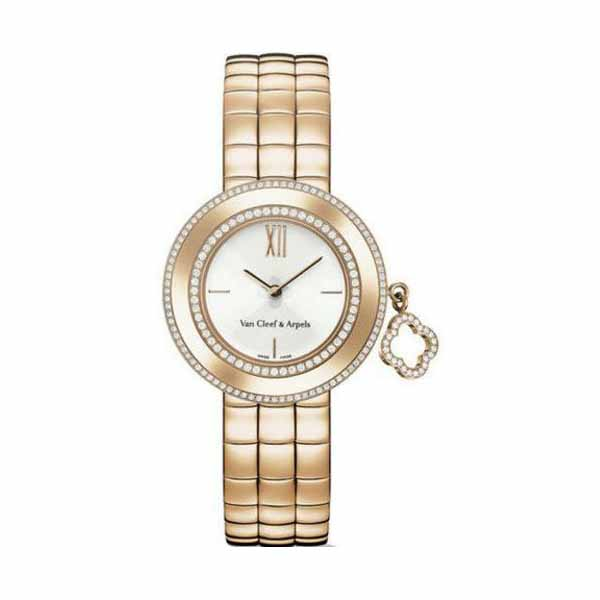VAN CLEEF & ARPELS 38MM 18KT ROSE GOLD LADIES WATCH