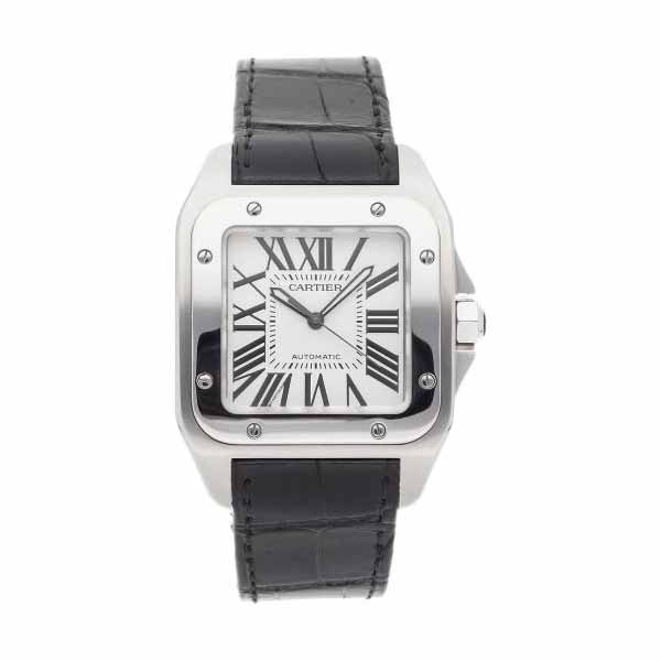 CARTIER SANTOS 100 LARGE 51.1MM X 41.3MM STAINLESS STEEL MEN'S WATCH
