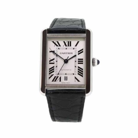 CARTIER TANK SOLO EXTRA LARGE 31MM X 40.85MM STAINLESS STEEL MEN'S WATCH