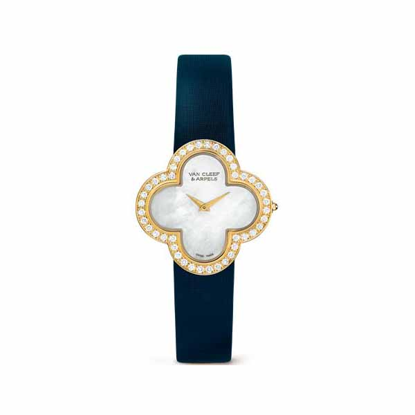 VAN CLEEF & ARPELS 18KT YELLOW GOLD 27MM X 27MM LADIES WATCH