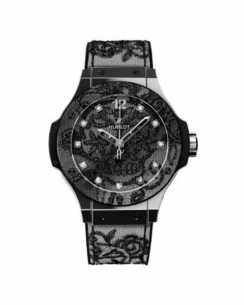 HUBLOT BIG BANG BRODERIE 41MM STAINLESS STEEL LIMITED EDITION 200 PIECES MEN'S WATCH