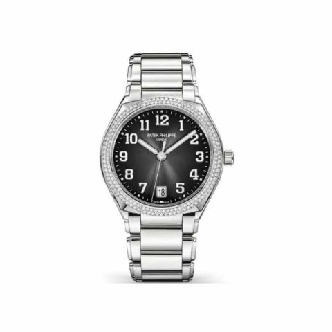PATEK PHILIPPE TWENTY~4 STAINLESS STEEL LADIES WATCH Ref. 7300/1200A-010
