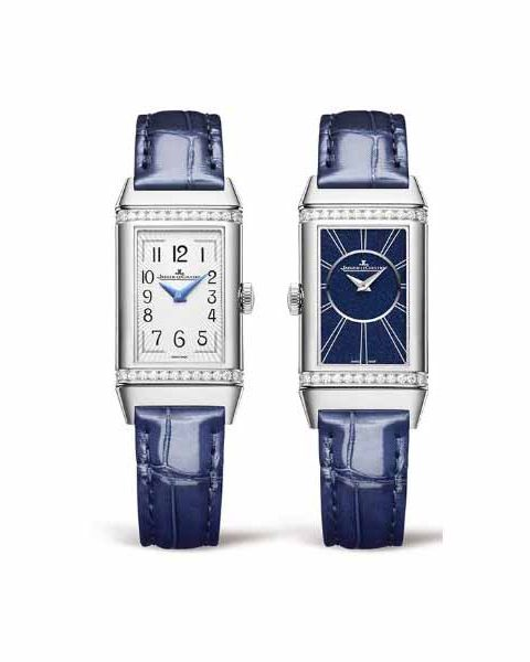JAEGER LECOULTRE REVERSO ONE DUETTO 40.1MM X 20MM STAINLESS STEEL UNISEX WATCH